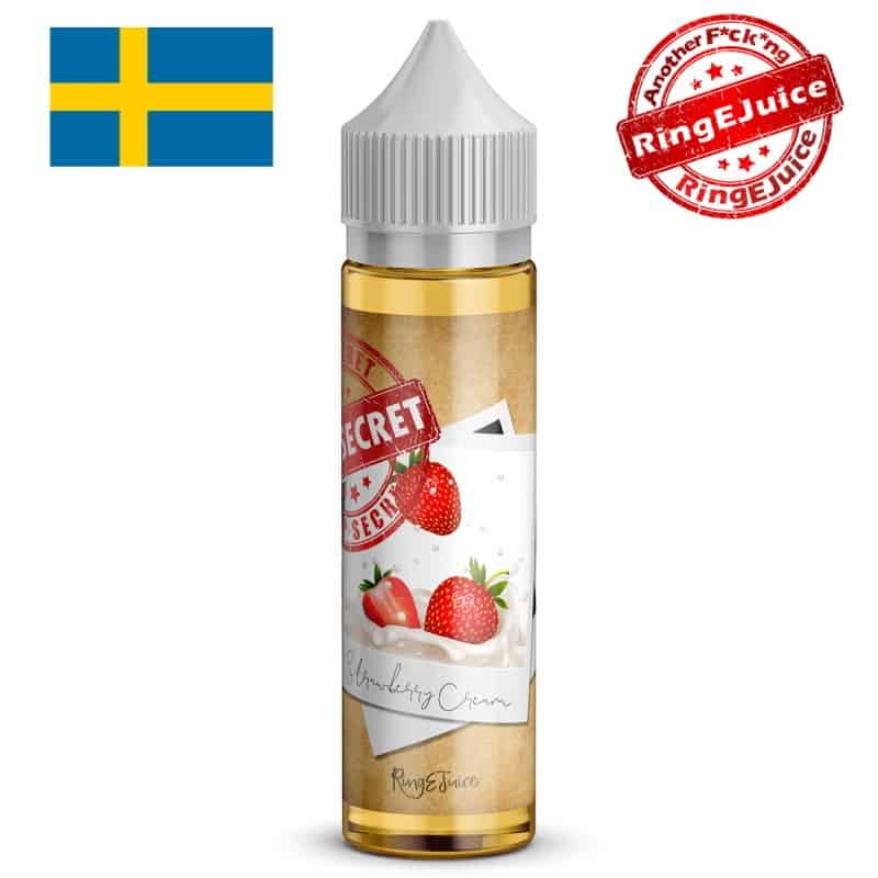 Strawberry Cream RingEjuice Top Secret Shortfill 50ml