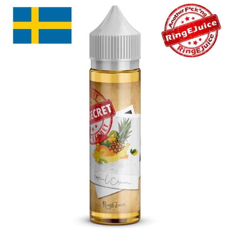 Tropical Cream RingEjuice Top Secret Shortfill 50ml