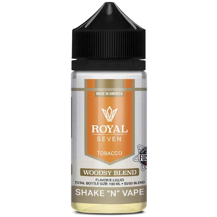 Woodsy Blend Royal Seven Shortfill 50ml