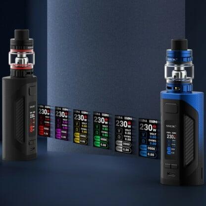 Smok Rigel Display Theme Colors