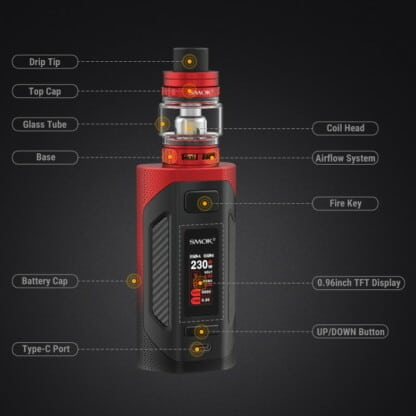 Smok Rigel Features