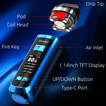 Smok Rpm 2 Features