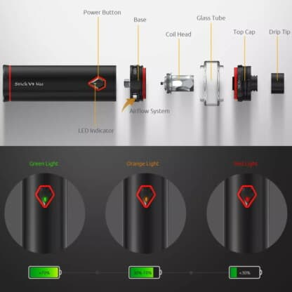 Smok Stick V9 Max Components