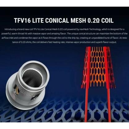 Smok Tfv16 Lite Canonical Mesh Coil