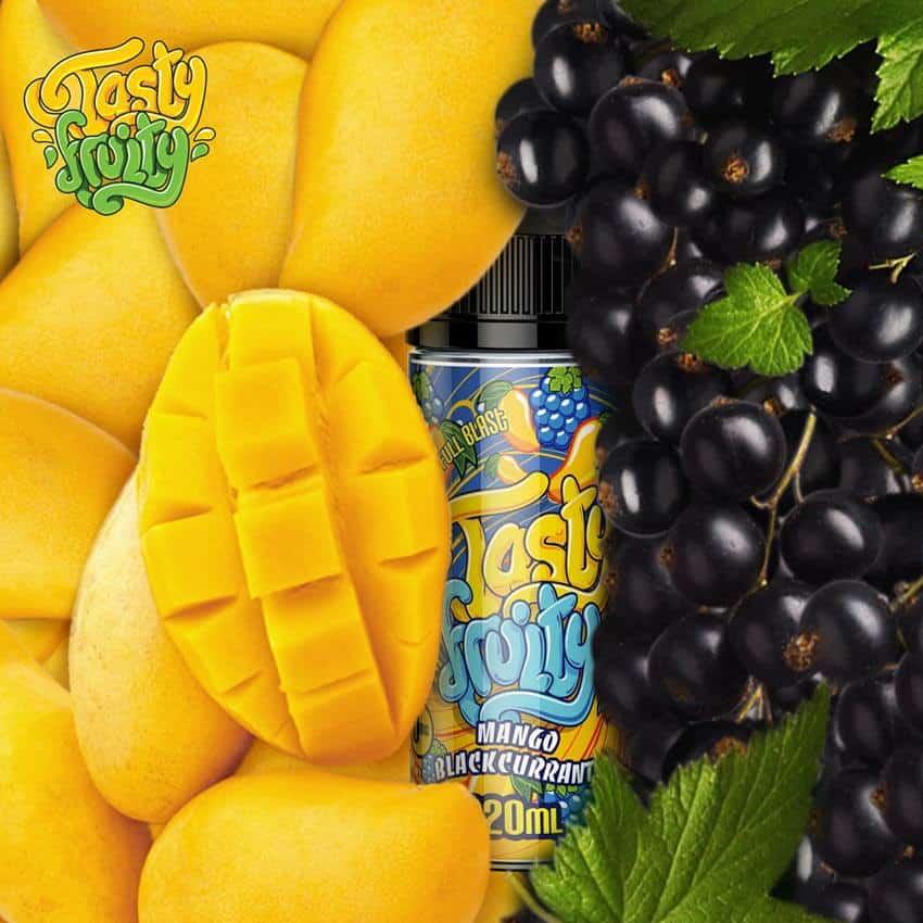 Mango Blackcurrant Tasty Fruity Shortfill 100ml