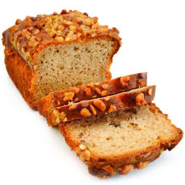 The Flavor Apprentice - Banana Nut Bread