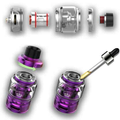 Uwell Crown 4 Filling