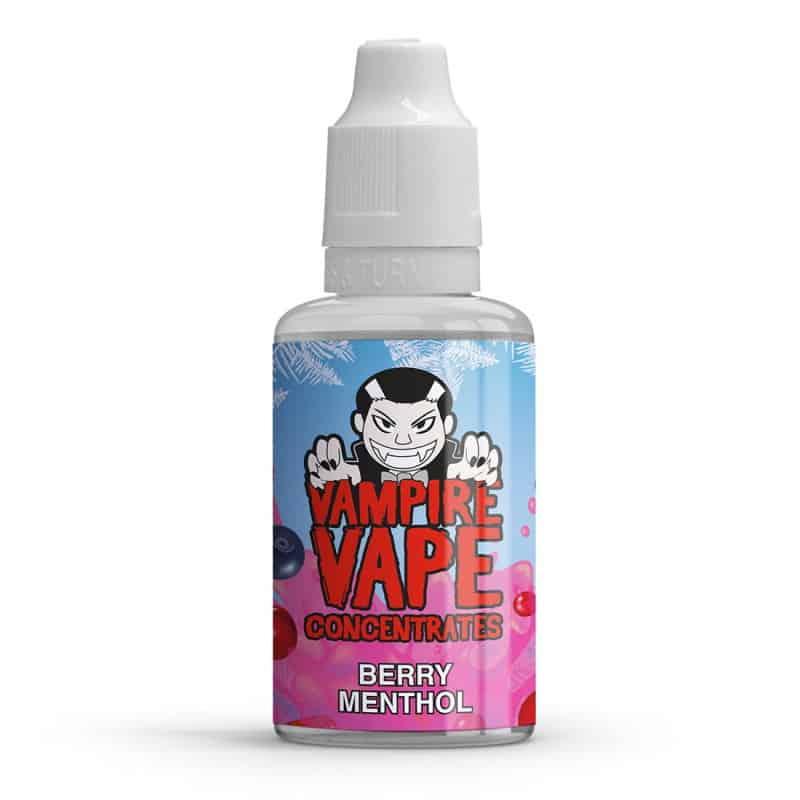 Berry Menthol Vampire Vape Concentrates 30ml