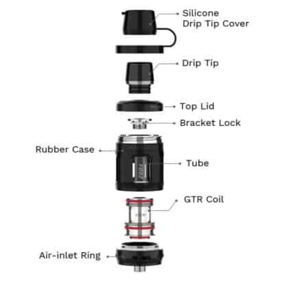 Vaporesso Forz Tank 25 Components
