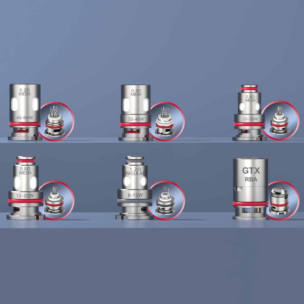 Vaporesso Gtx Coils Lineup