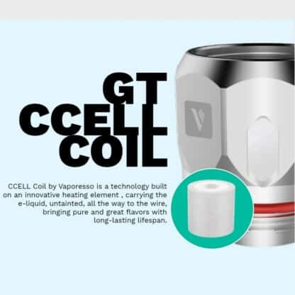 Vaporesso Swag Kit GT CCELL Coil