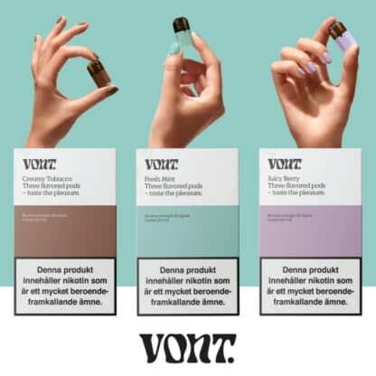 Vont 3 Pods 3 Flavors