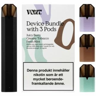 Vont Device Bundle With 3 Pods