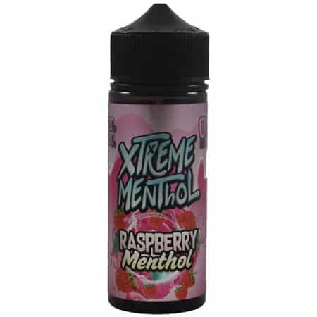 Raspberry Menthol Xtreme Menthol Shortfill 100ml