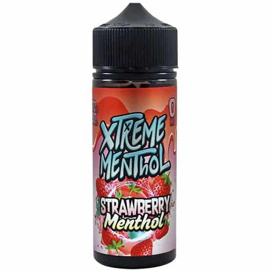 Strawberry Menthol Xtreme Menthol Shortfill 100ml